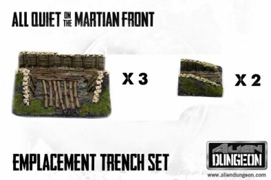 Emplacement Trench Set