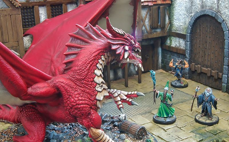Gale Force Nines Collectors Series Dragon Looks Amazing