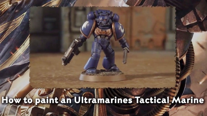 Games Workshop Painting Tutorial: How To Paint An Ultramarine!