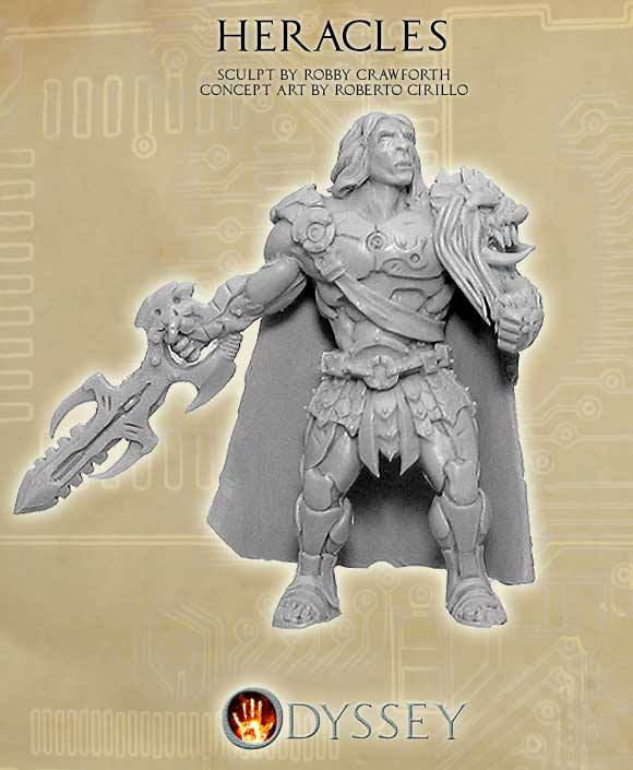 JoeK Cast the Legend of Heracles For Sci-Fi Odyssey ...