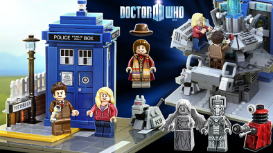 Lego Doctor Who Preview
