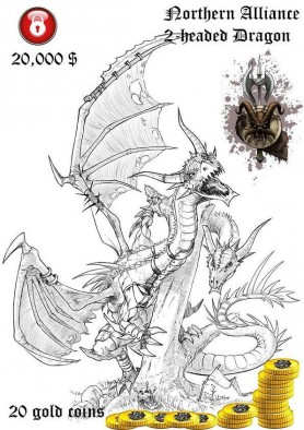 Northern Alliance Two Headed Dragon