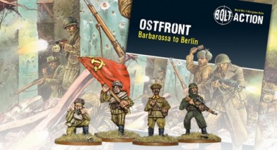 Ostfront Book & Miniatures