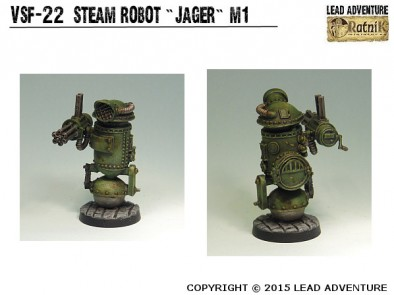Steam Robot Jaeger