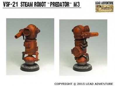 Steam Robot Predator