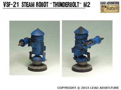 Steam Robot Thunderbolt