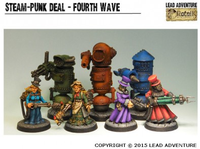 Steampunk Fourth Wave