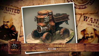Wild West Exodus Faction Chat: Outlaw Ironhide