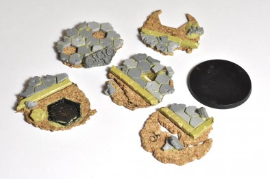 Afterlife bases unpainted