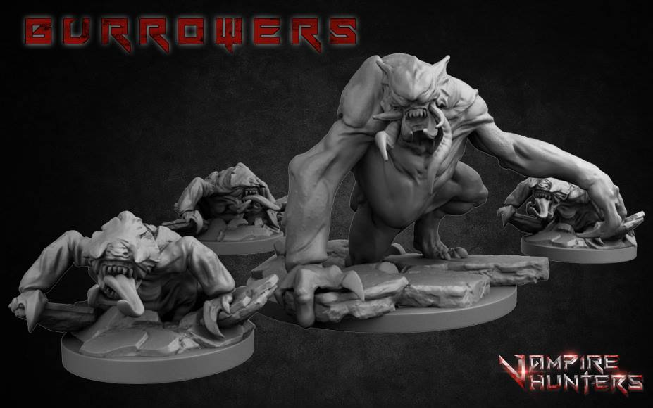 Bloodsuckers Strike From Underground In Vampire Hunters – OnTableTop