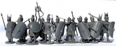 Carthaginian Infantry (Ranked Up)