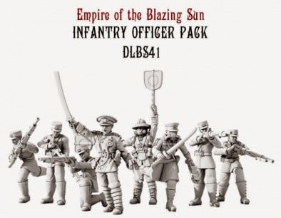 Dystopian Legions Empire of the Blazing Sun Infantry Officer Pack