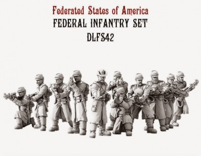 Dystopian Legions Federated States of America Federal Infanty