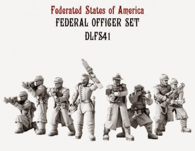 Dystopian Legions Federated States of America Federal Officers