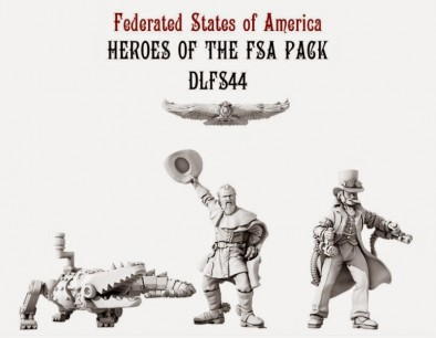 Dystopian Legions Federated States of America Heroes of the FSA