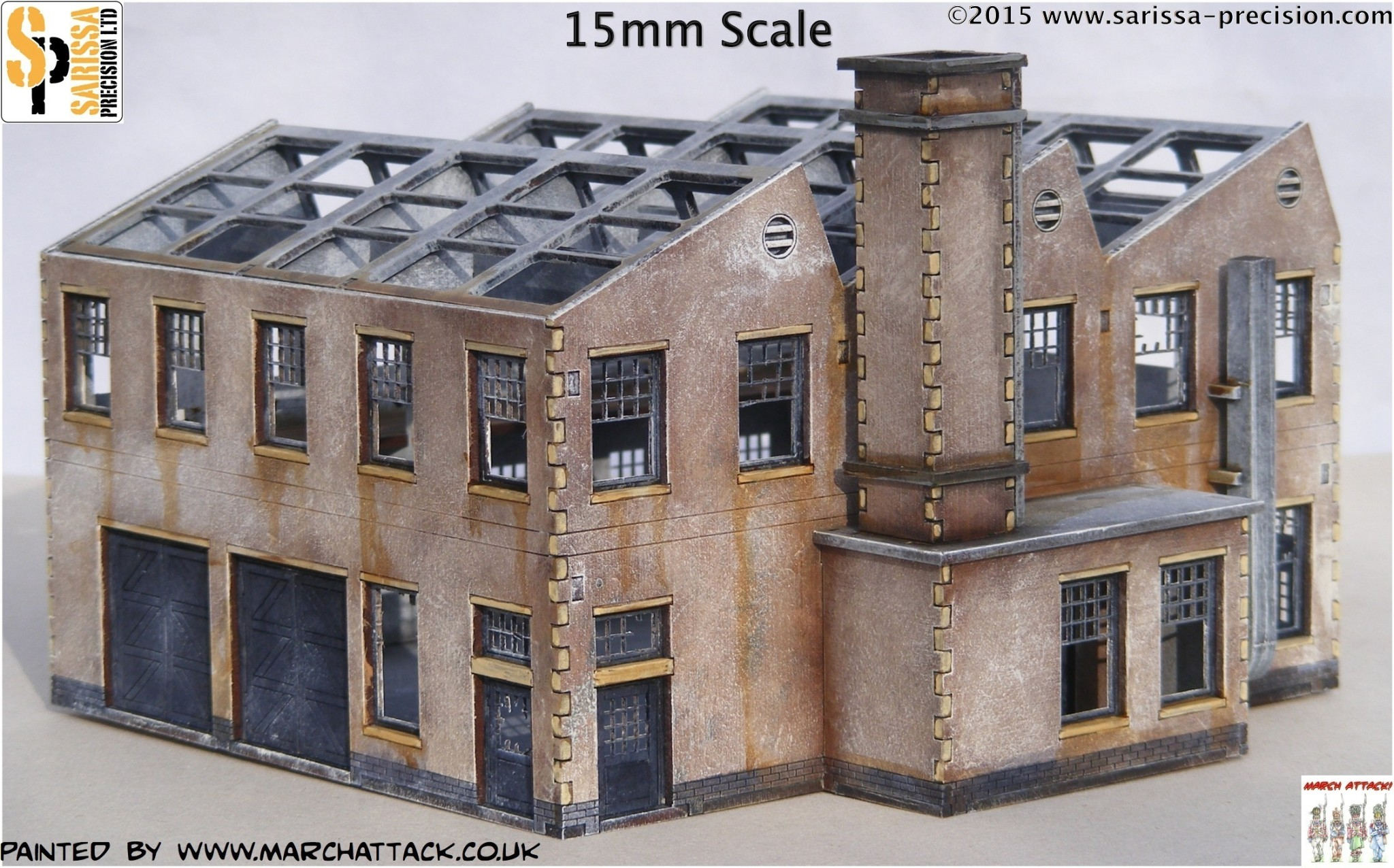 Sarissa Get Industrial With Buildings For 15mm & 28mm