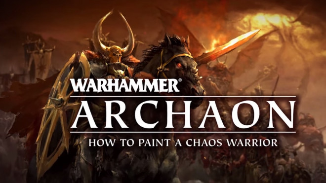 Games Workshop Painting Tutorial: How To Paint A Chaos Warrior