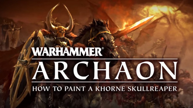 Games Workshop Painting Tutorial: How To Paint A Khorne Skullreaper!