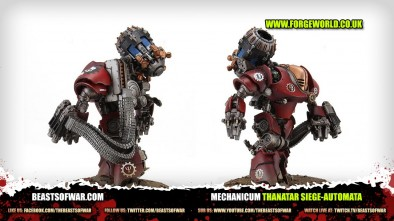 Unboxing: Forge World Thanatar Siege-Automata