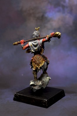 Plastic Monkey King painted 3