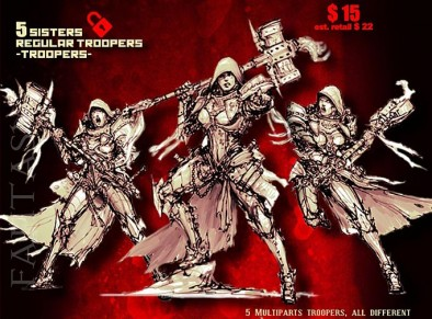 Sisters of the Orphanage (Fantasy Troops)