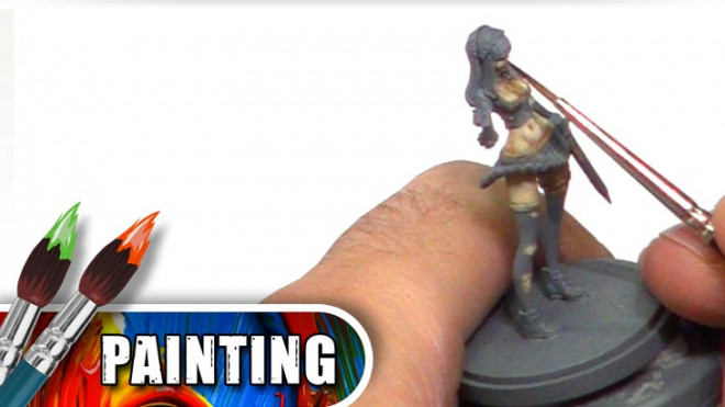 Skin Tone Tutorials: How To Paint Japanese Skin Part Four!
