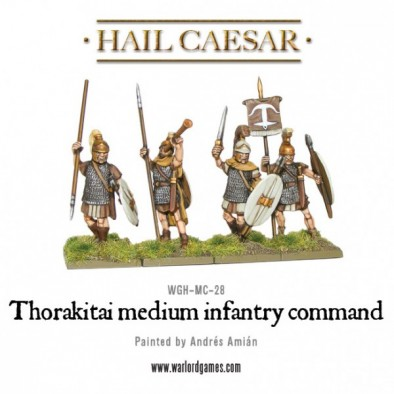 Thorakitai Medium Infantry (Command)