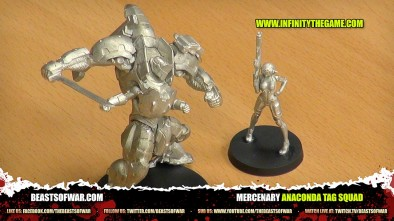 Unboxing: Infinity Anaconda Mercenary TAG Squad