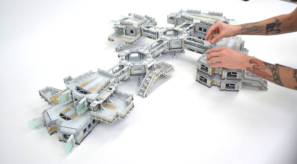 One Big Sci-Fi Terrain Set Coming Soon From Warmill! – OnTableTop