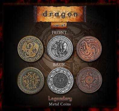 coins dragons
