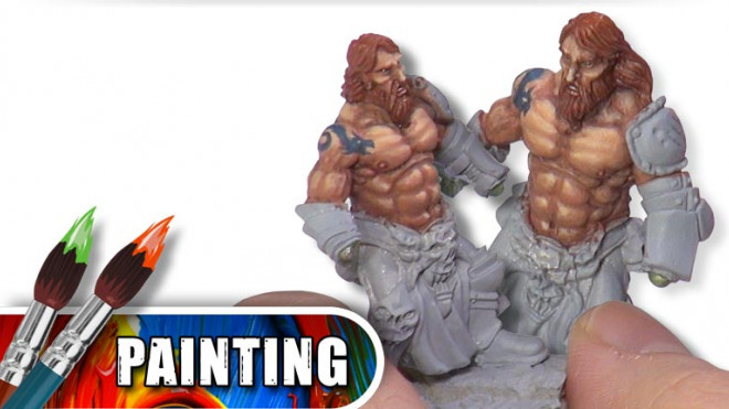 3 Colours Up Tips: How To Paint Red Hair & Body Hair Part 1