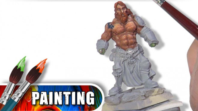 3 Colours Up Tips: How To Paint Red Hair & Body Hair Part 2