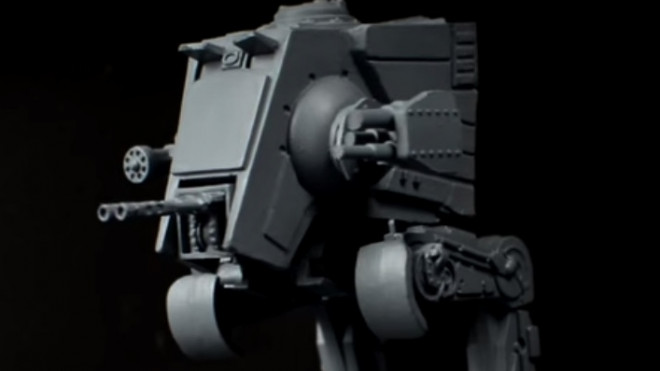 Star Wars Imperial Assault Painting Guide: How To Paint An AT-ST!