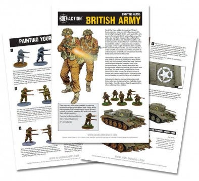 British Army Painting Guide