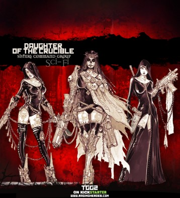 Daughters of the Crucible