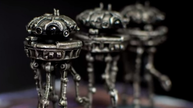 Star Wars Imperial Assault Painting Guide: How To Paint Probe Droids