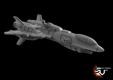 EEF Draconus Heavy Fighter