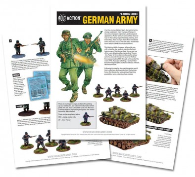 German Army Painting Guide