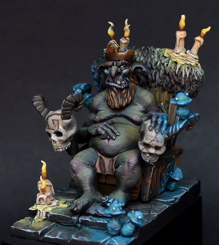 Aradia Miniatures Crown A Goblin King – OnTableTop – Home of Beasts