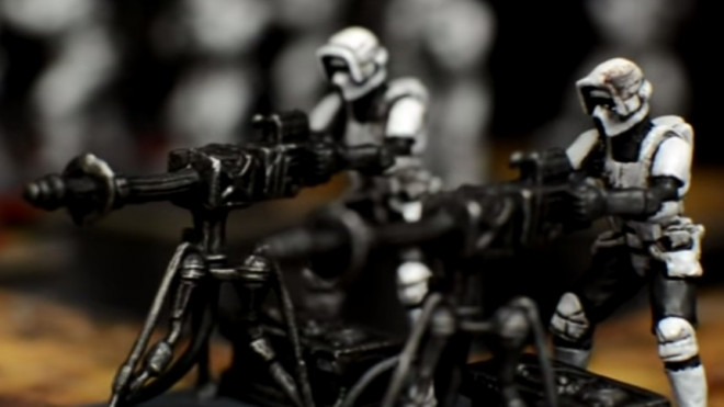 Star War Imperial Assault Painting Guide: How To Paint E-Web Engineers
