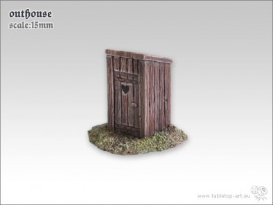 Outhouse 15mm