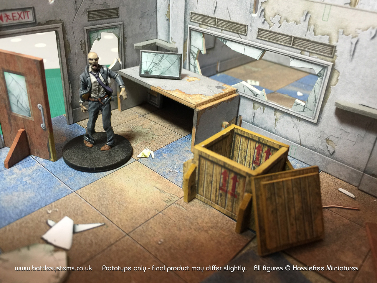 Battle Systems Turn Your Tabletop Into A Post Apocalyptic