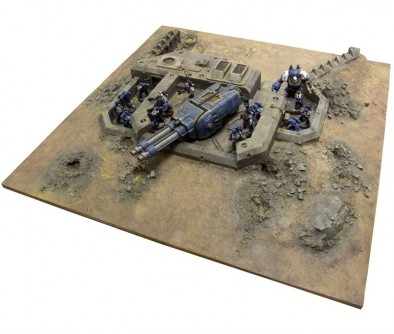 Primus Redoubt Side