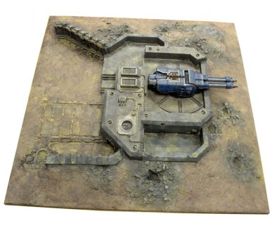 Primus Redoubt Top View