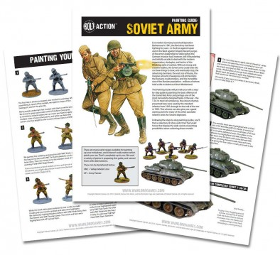 Soviet Army Painting Guide