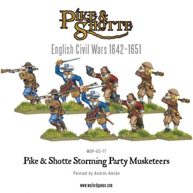 Storming Party Musketeers