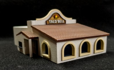 Taco Bell (Painted)