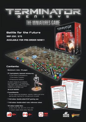 Terminator Miniatures Game Preview