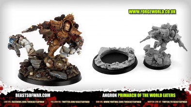 Unboxing: Forge World's Angron Primarch of the World Eaters
