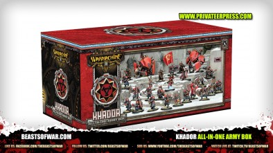 Unboxing: Warmachine Khador All-in-One Army Box